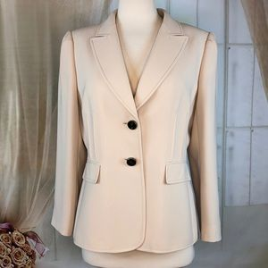 Tahari Tan Career Blazer